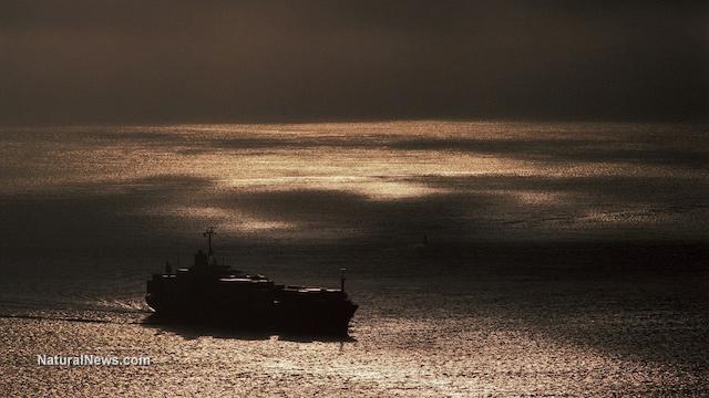 Ship-Sea-Cloudy-Sky
