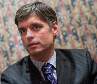 Vadym Prystaiko - Ukraine deputy foreign minister