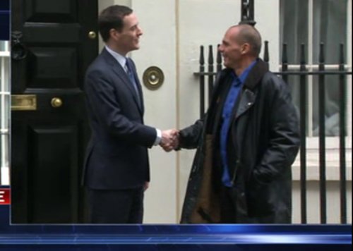 Varoufakis Arrives In London