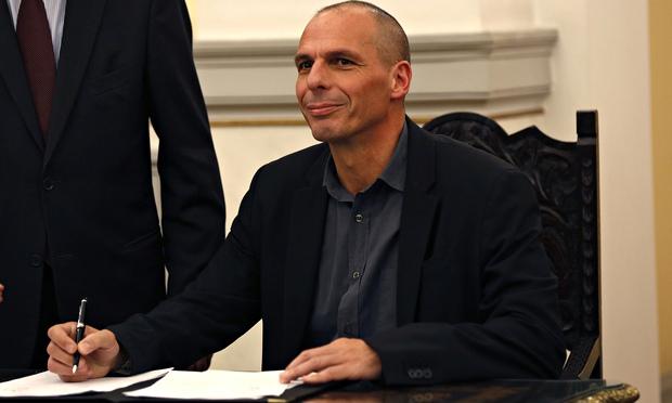 Yanis Varoufakis, Greek finance minister