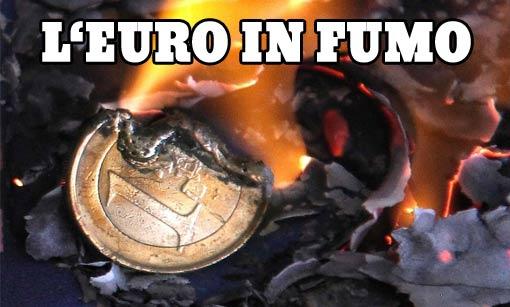 euro in smoke