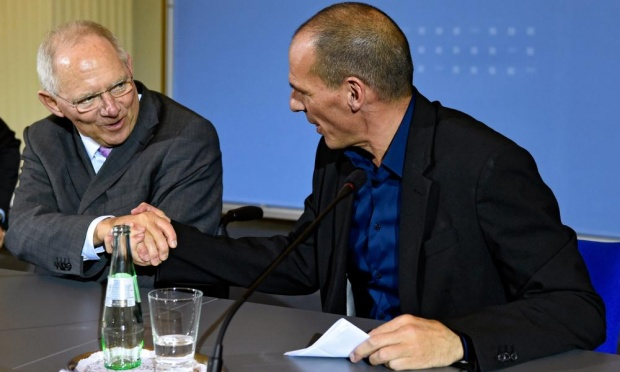yanis schauble shaking hands