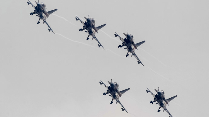 Chinese J-10 fighter jets