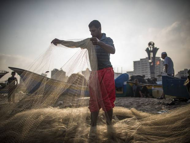 Gaza-Fisherman