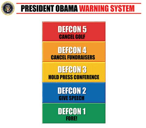 President Obama Warning System