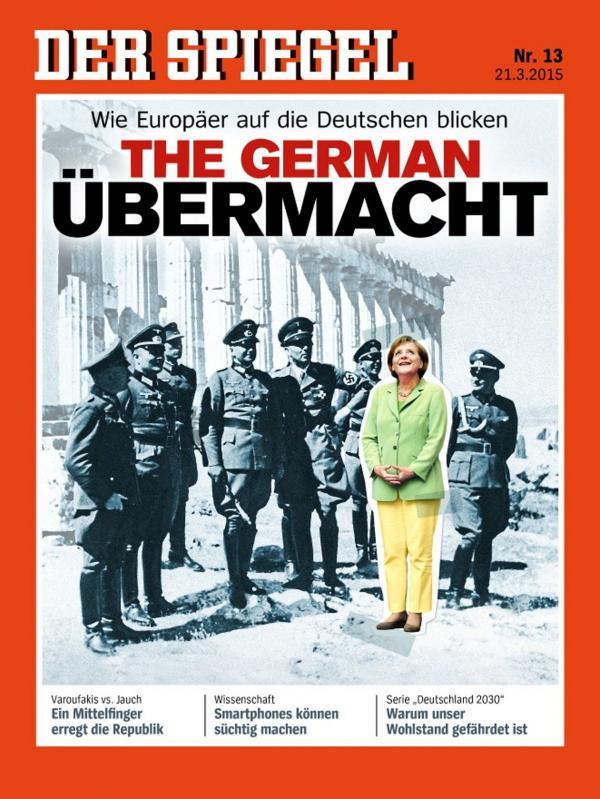 Spiegel Greece Merkel