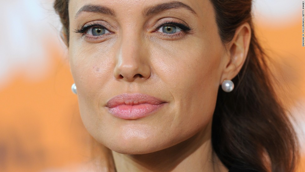 UN Special Envoy and actress Angelina Jolie