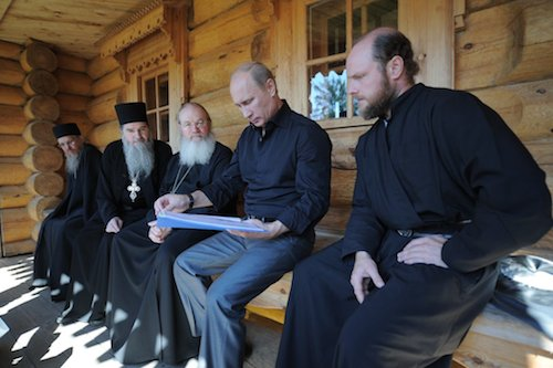 Valaam Monastery-Putin