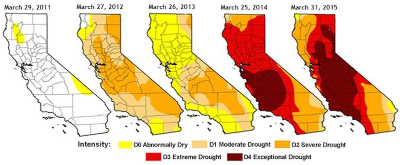 California-National-Drought-Monitor