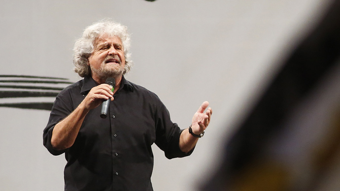 EU has already collapsed – Beppe Grillo