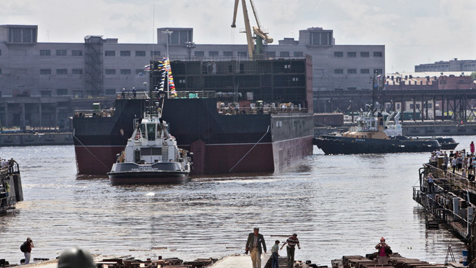 Russian floating nuclear powerplant