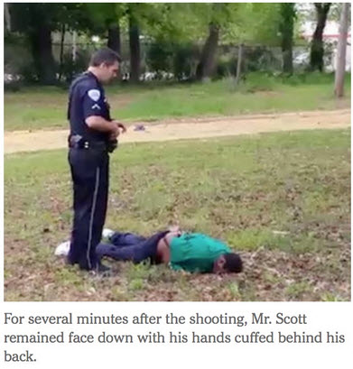 South Carolina Cop Shoots Unarmed Man 8 Times In The Back