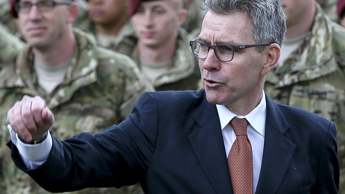 U.S. ambassador to Ukraine Geoffrey Pyatt