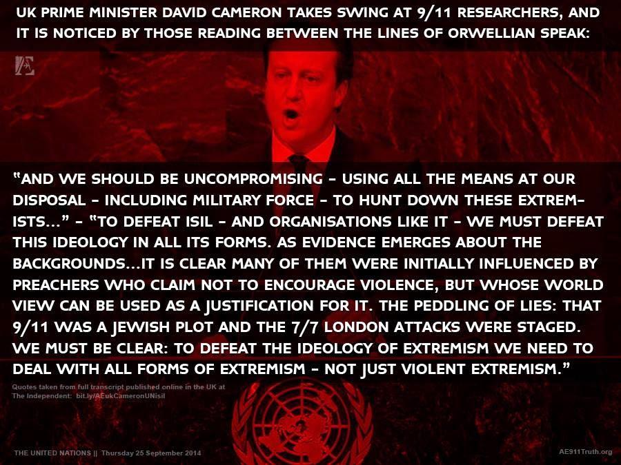 David Cameron ISIS Terrorism Extremism