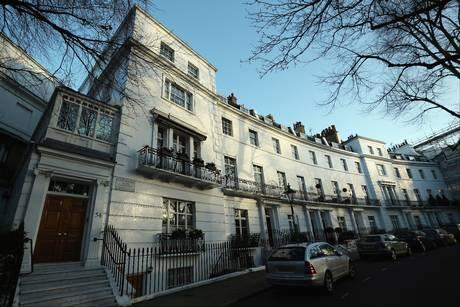 Egerton Crescent, in Kensington and Chelsea