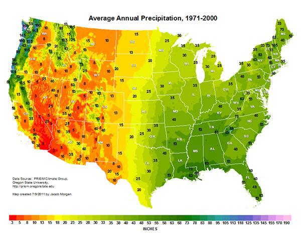 US-Precipitation-Map