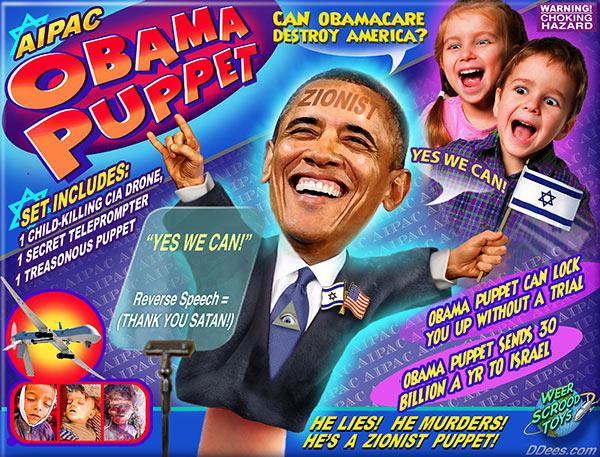 Zionist-Puppet-Obama