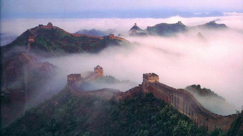 Chinese Wall in the Mist
