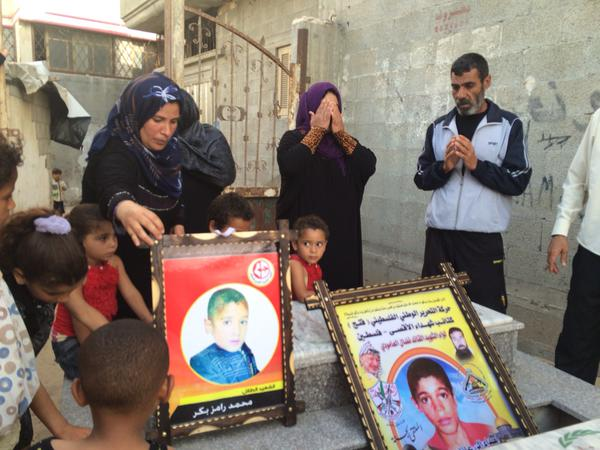 Israel killing four boys playing soccer on Gaza beach