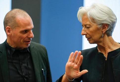 Lagarde no more