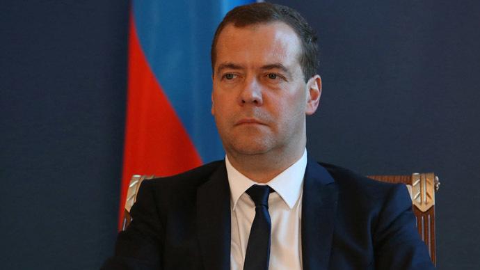 Russian Prime Minister Dmitry Medvedev-1
