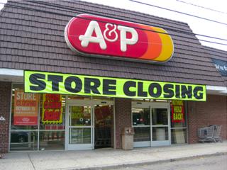 A&P closing
