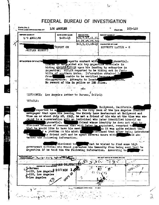 FBI+Hitler+document