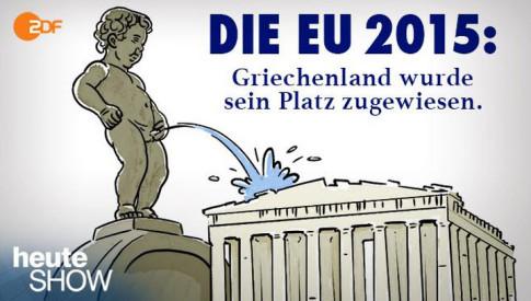 Griechenland wurde sein Platz zugewiesen