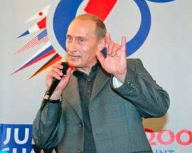 Putin-satanic-hand-sign