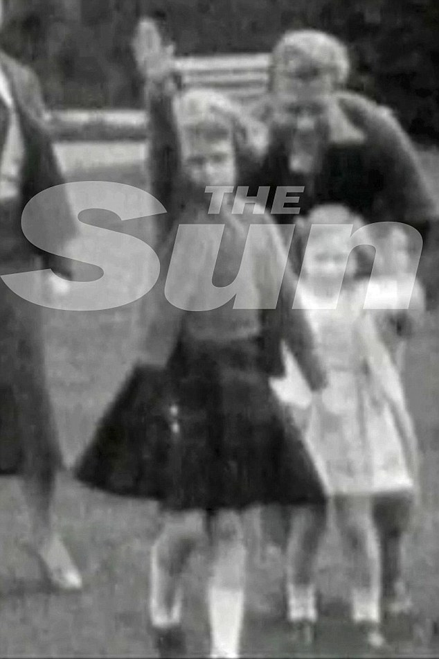 Queen performing a Nazi salute as a young girl-3