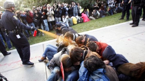 Pepper Spray Cop Receives 38,000 Settlement from the University of California