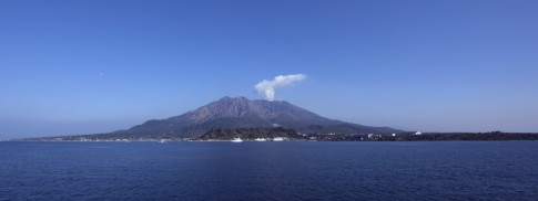 Sakurajima-volcano