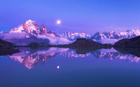 Aiguilles de Chamonix, Rh鬾e-Alpes, France