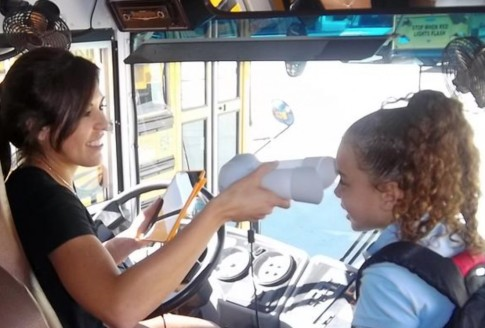 California School District Rolls Out Iris Scanner Pilot Program on School Buses