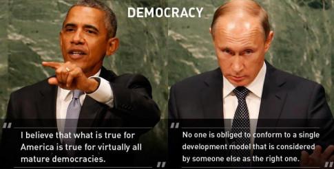 Democracy-Obama-Putin