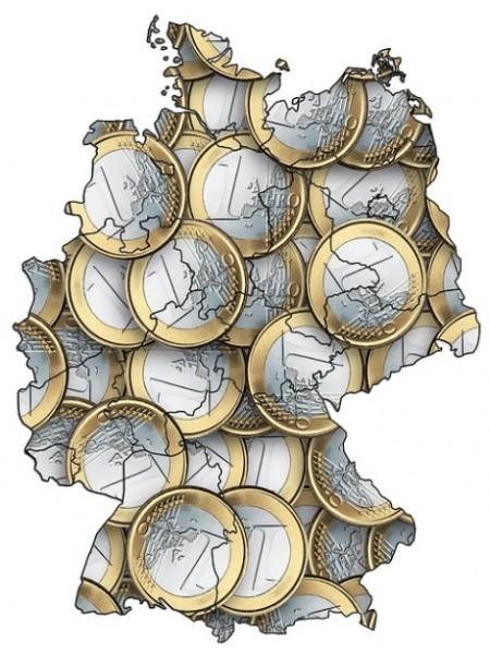 Germany-Euro-Map
