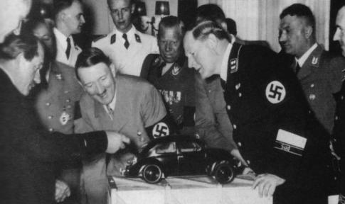 Porsche-Hitler-Volkswagen-Beetle