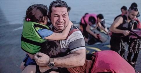 drowned-refugee-war
