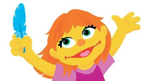 Julia-Autistic-Sesame-Street