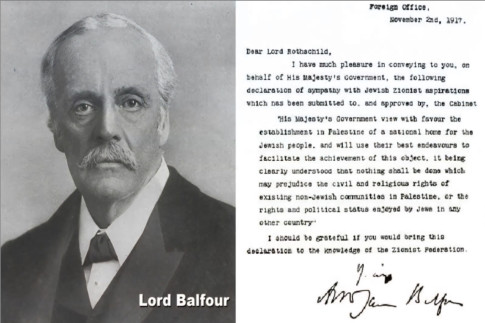 Lord Balfour-Lord-Rothschild