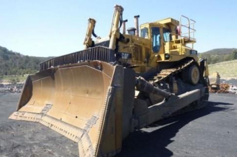 Caterpillar D11N crawler tractor