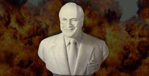 Cheney-Bust-Statue