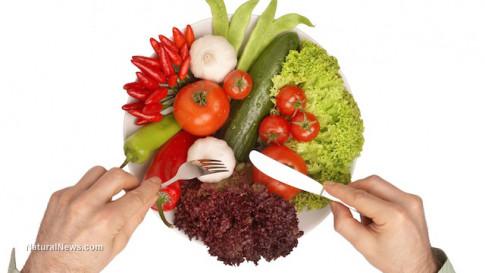 Eating-Veggies