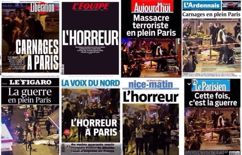 France Paris Terror