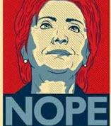 Hillary-nope