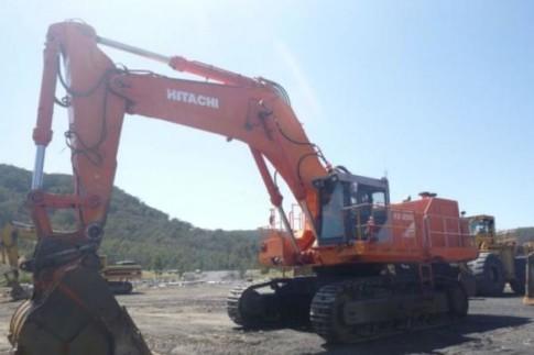 Hitachi EX1200 hydraulic excavator