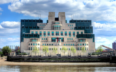 MI6 Building at Vauxhall Cross