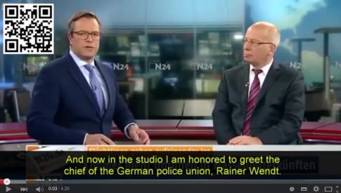 Migrant Crisis - German Police