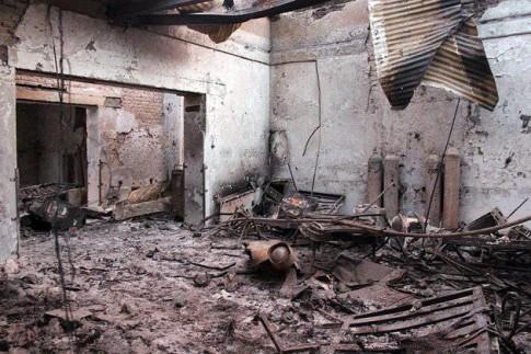 US Planes Shot Doctors Fleeing Kunduz Hospital-3