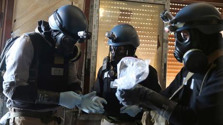 A U.N. chemical weapons expert